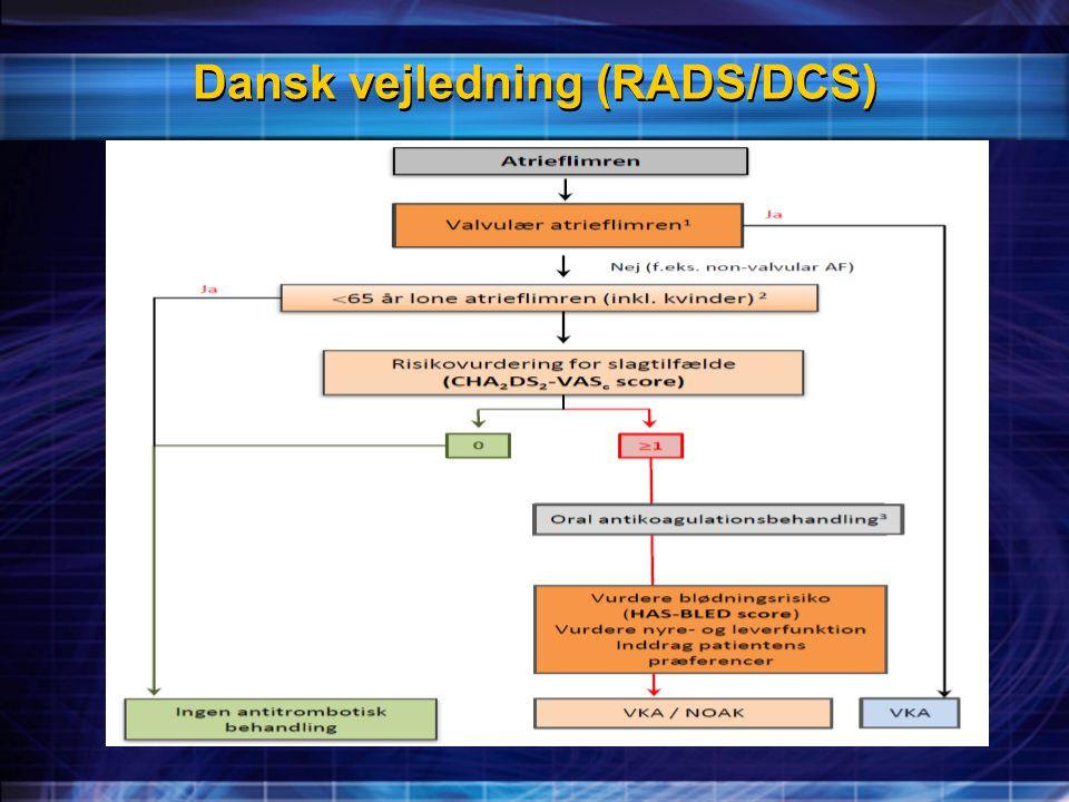 Dansk vejledning (RADS/DCS)