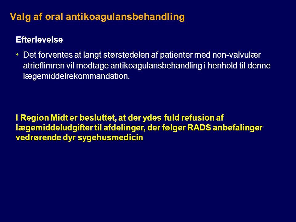 Valg af oral antikoagulansbehandling