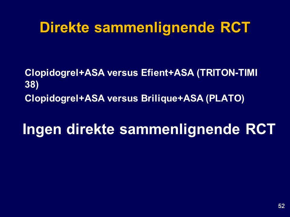 Direkte sammenlignende RCT