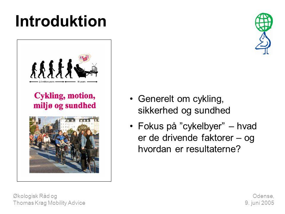 Introduktion Generelt om cykling, sikkerhed og sundhed