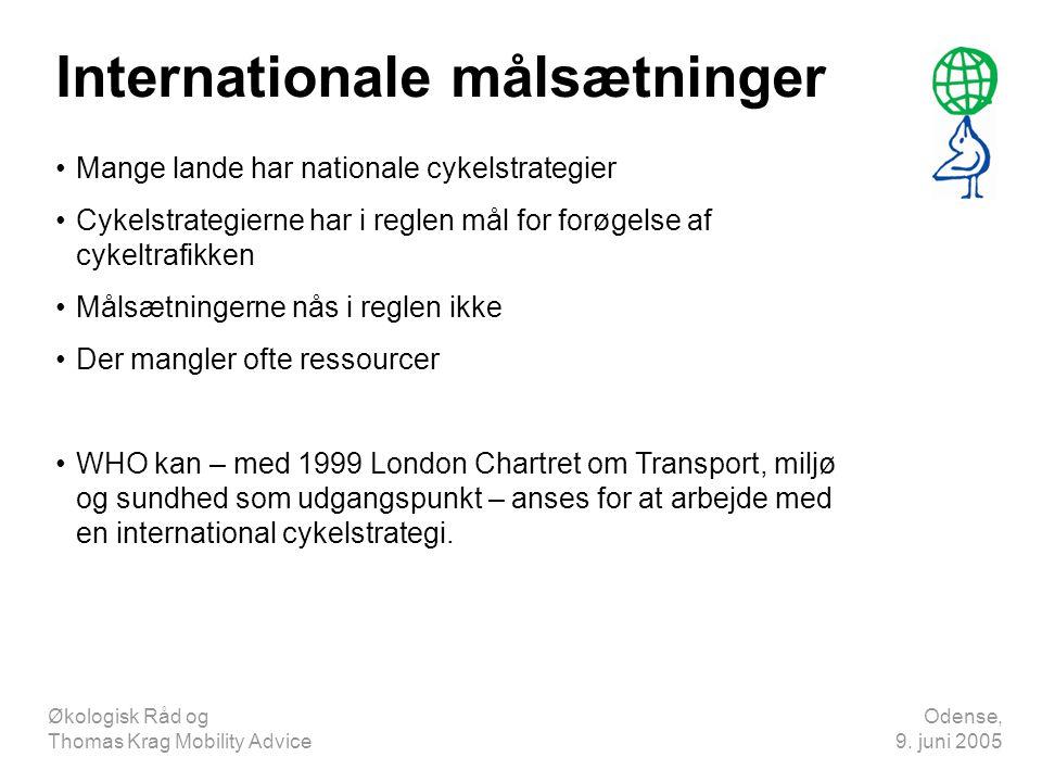 Internationale målsætninger