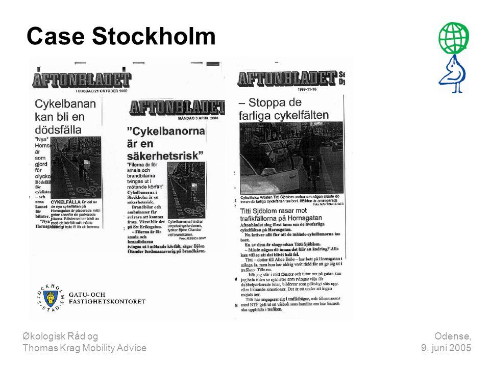 Case Stockholm Økologisk Råd og Thomas Krag Mobility Advice