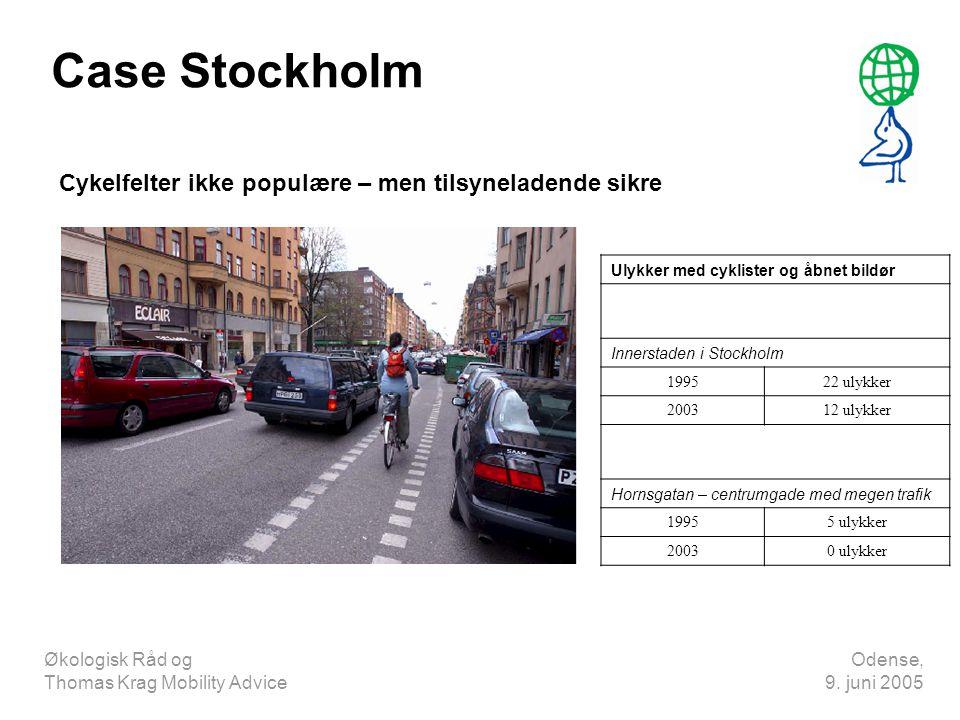 Case Stockholm Cykelfelter ikke populære – men tilsyneladende sikre