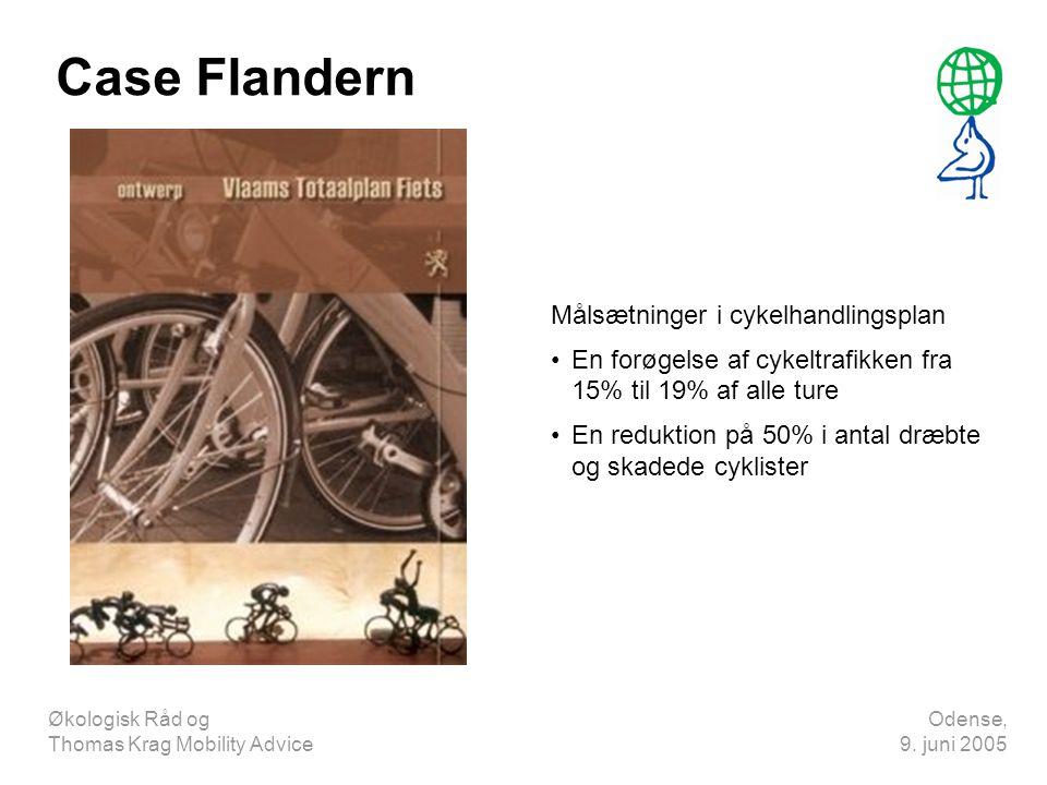 Case Flandern Målsætninger i cykelhandlingsplan