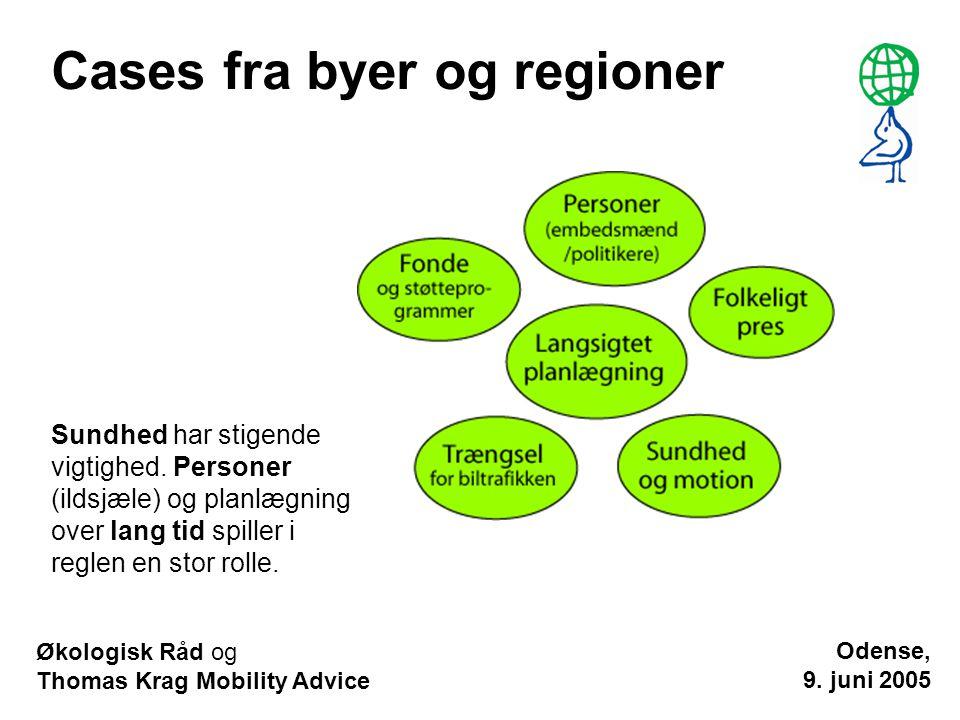 Cases fra byer og regioner