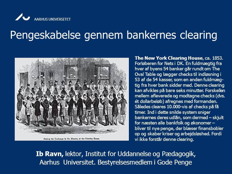Pengeskabelse gennem bankernes clearing