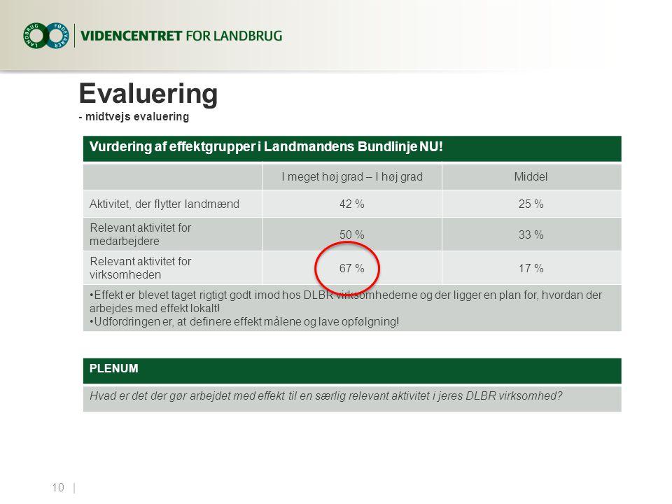 Evaluering - midtvejs evaluering