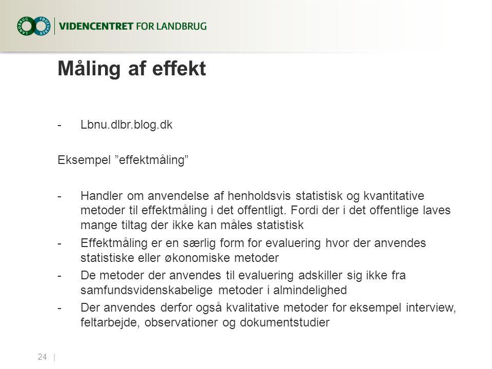 Måling af effekt Lbnu.dlbr.blog.dk Eksempel effektmåling