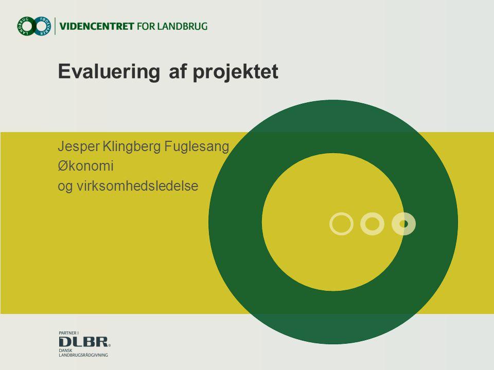 Evaluering af projektet
