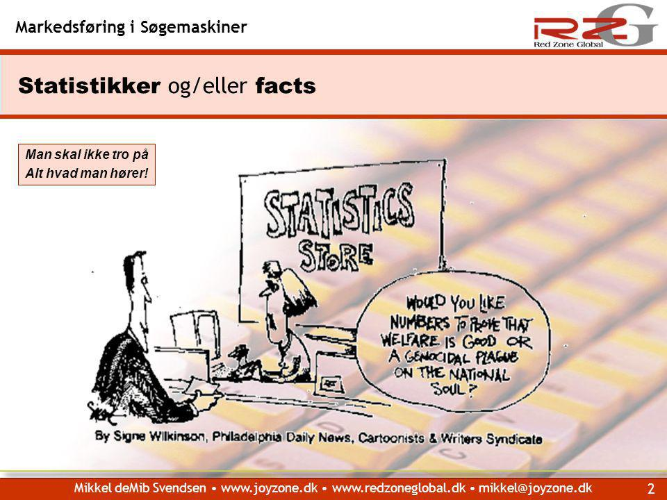 Statistikker og/eller facts