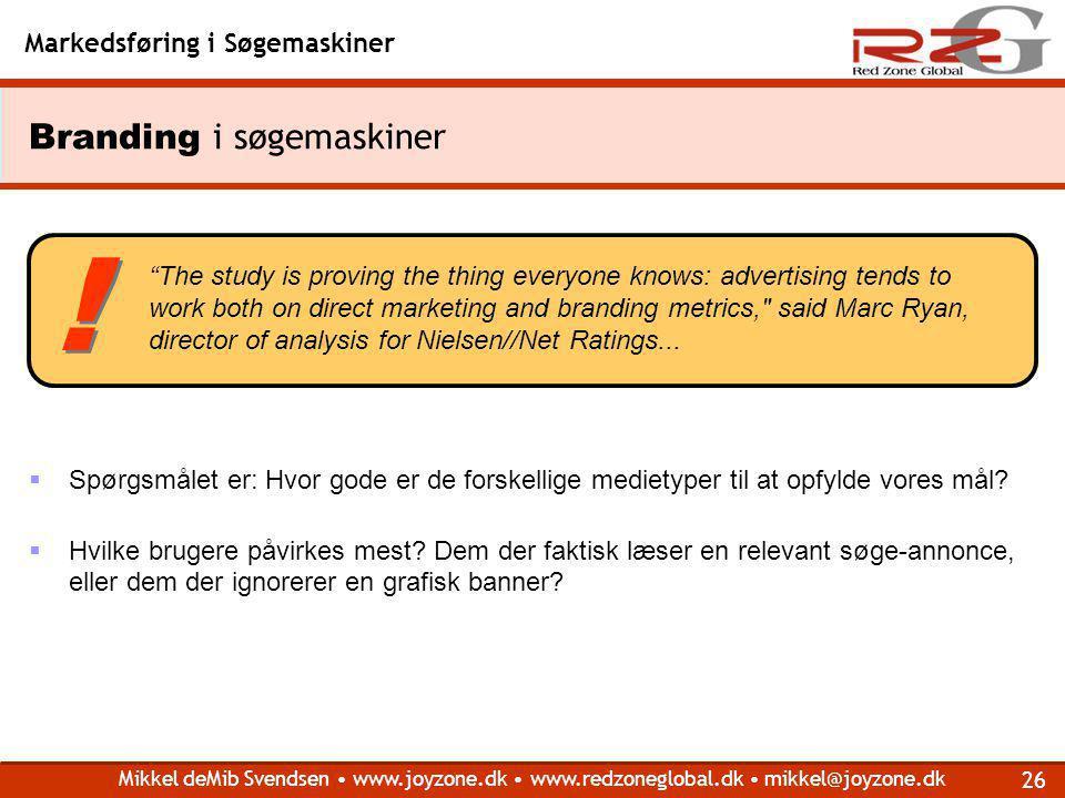 Branding i søgemaskiner
