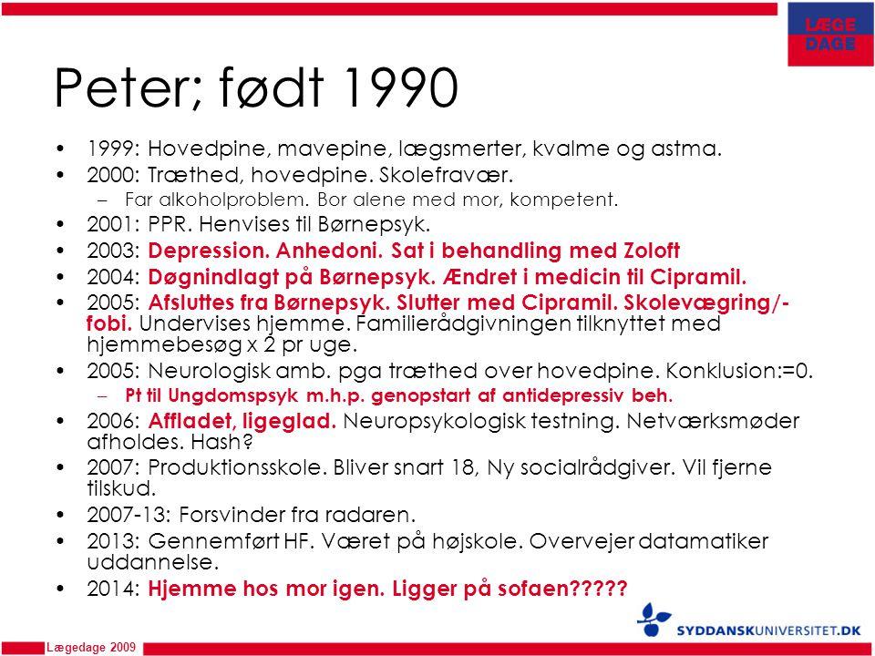 Hvem hjælper Peter? Ovl. Niels Bilenberg PPR-leder Hanne Melchiorsen - ppt download