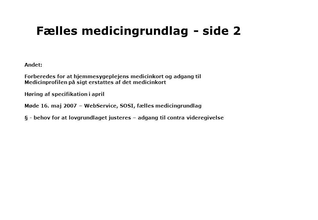 Fælles medicingrundlag - side 2