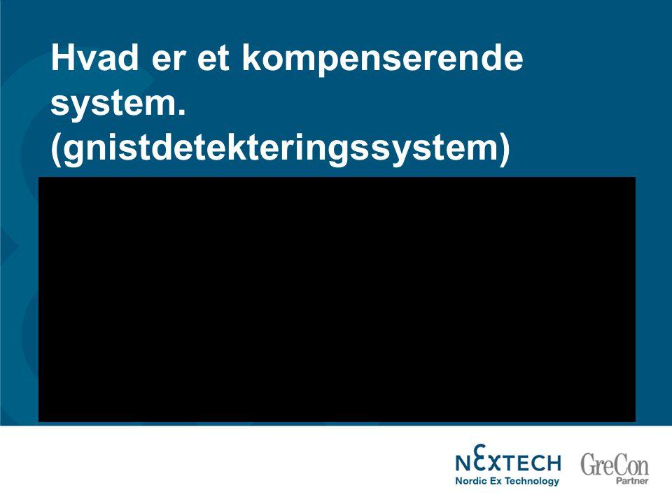 Hvad er et kompenserende system. (gnistdetekteringssystem)