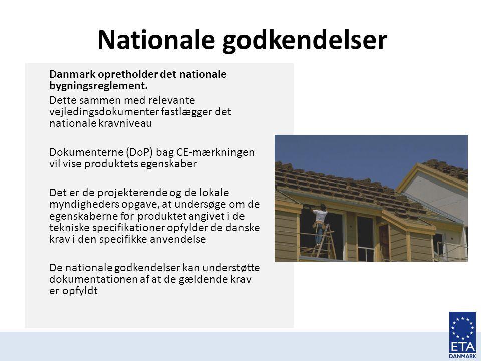 Nationale godkendelser