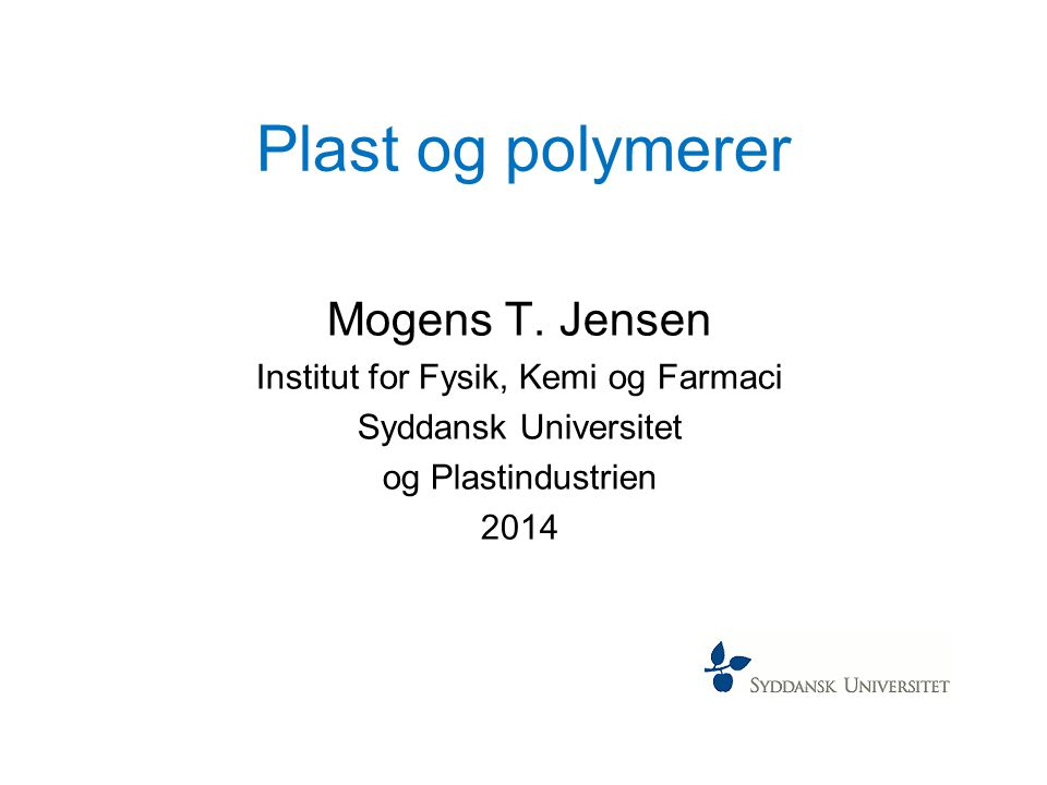 Institut for Fysik, Kemi og Farmaci