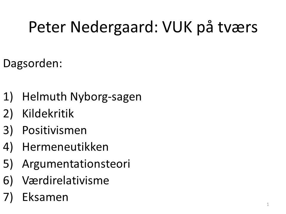 Peter Nedergaard: VUK på tværs
