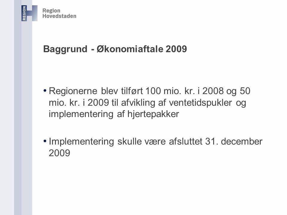 Baggrund - Økonomiaftale 2009