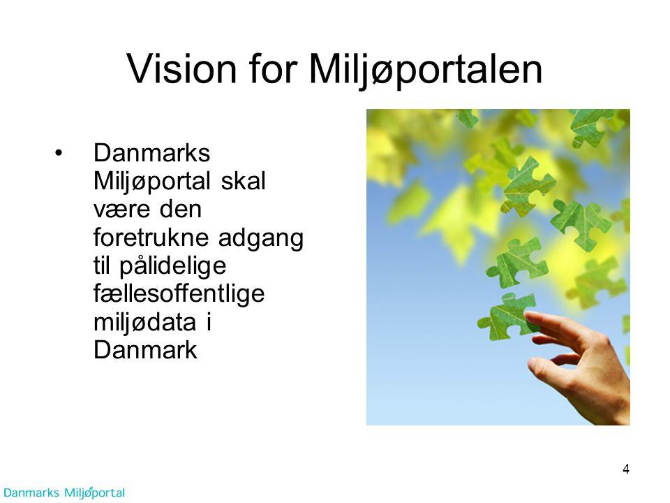 Vision for Miljøportalen
