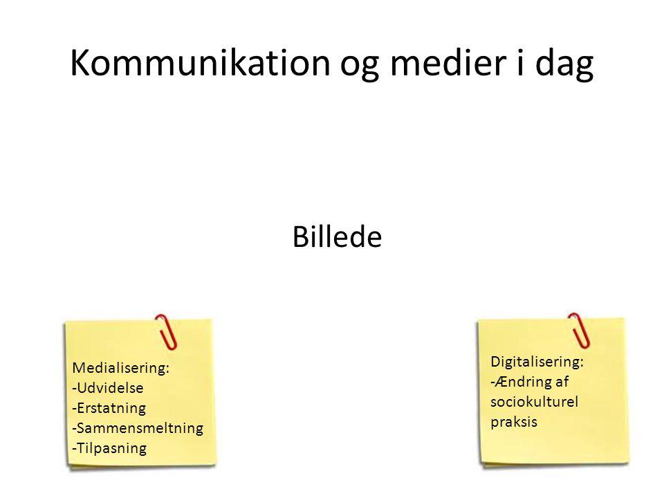 Kommunikation og medier i dag