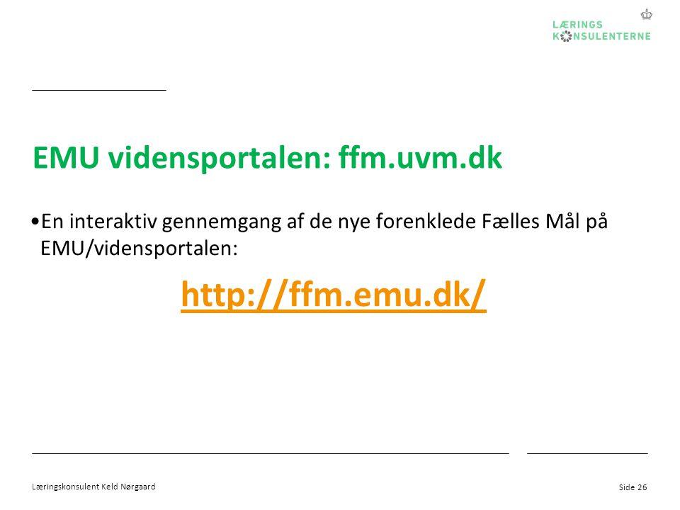 EMU vidensportalen: ffm.uvm.dk