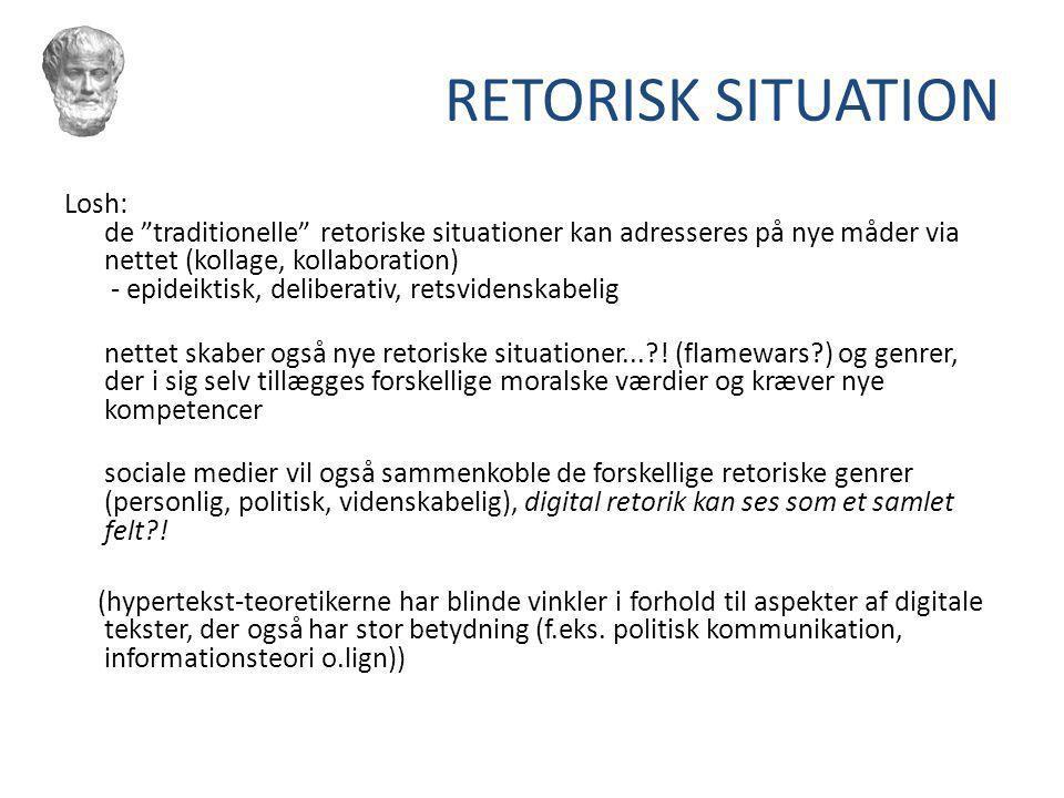RETORISK SITUATION