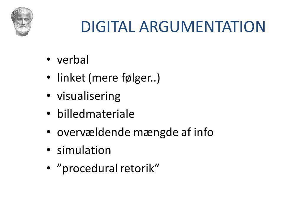 DIGITAL ARGUMENTATION