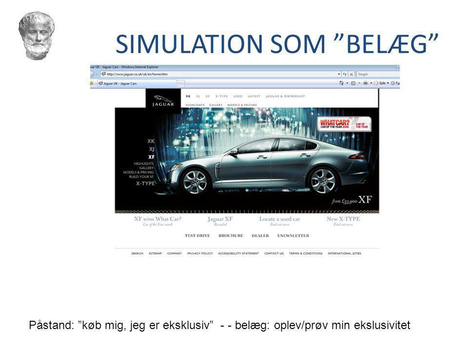 SIMULATION SOM BELÆG