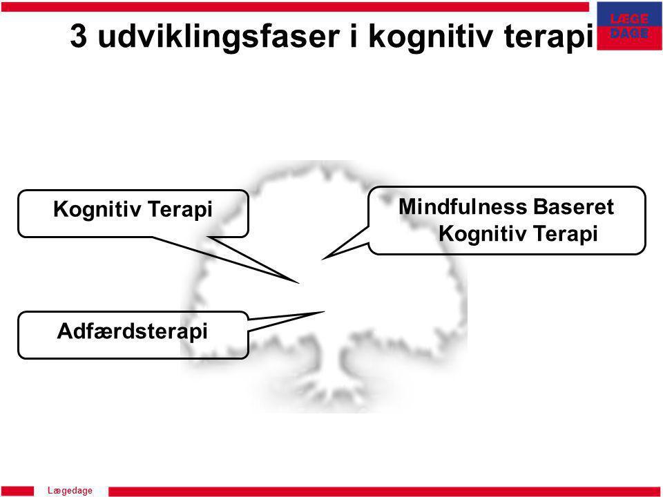 3 udviklingsfaser i kognitiv terapi