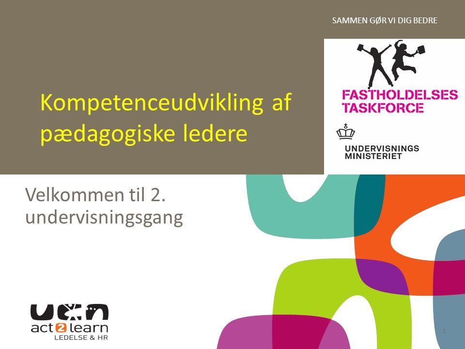 Kompetenceudvikling af pædagogiske ledere