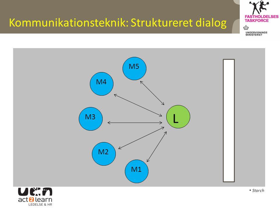 Kommunikationsteknik: Struktureret dialog