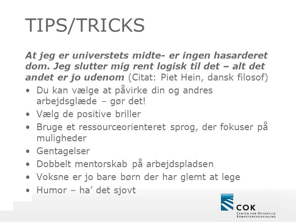 TIPS/TRICKS