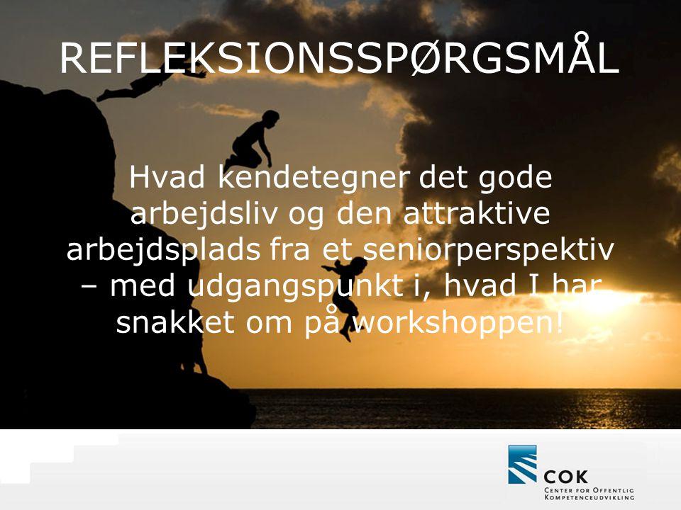 REFLEKSIONSSPØRGSMÅL