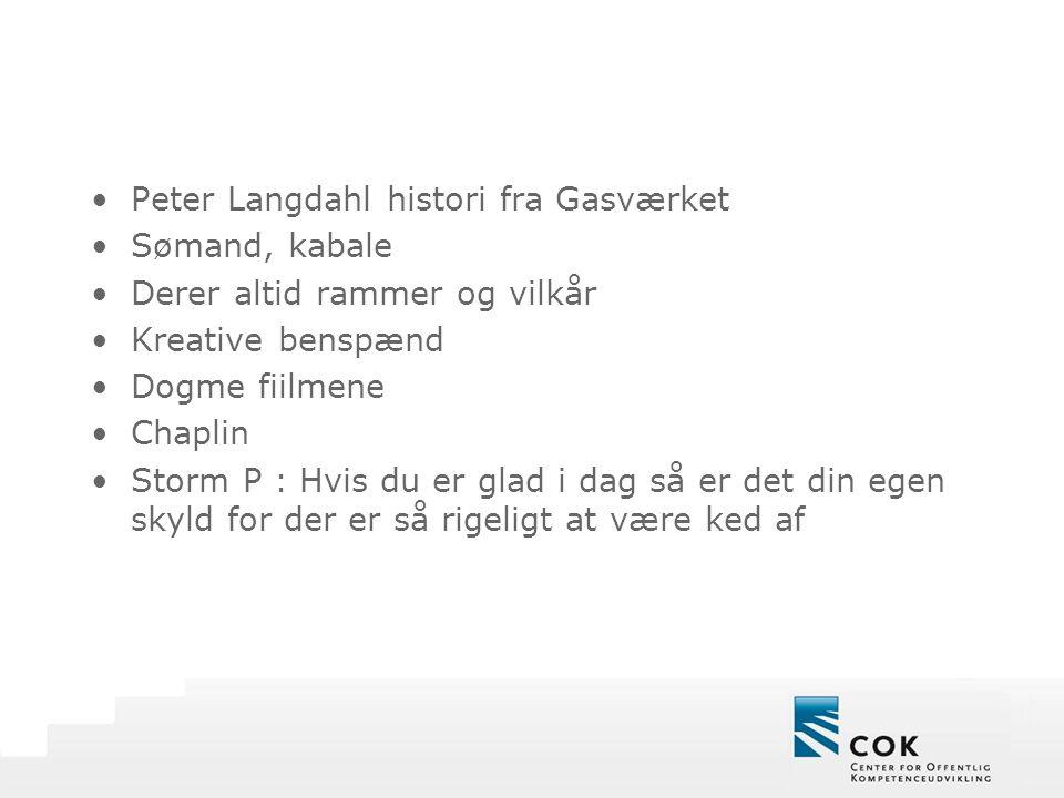 Peter Langdahl histori fra Gasværket