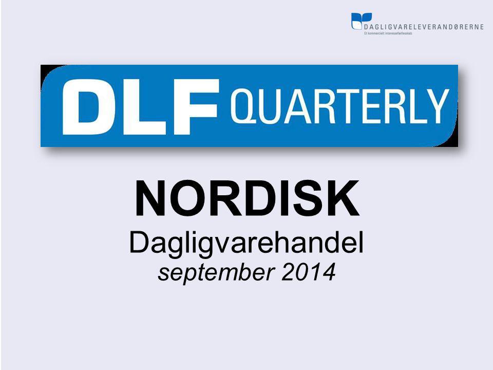 NORDISK Dagligvarehandel september 2014