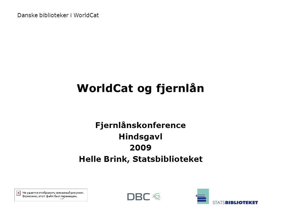 Fjernlånskonference Hindsgavl 2009 Helle Brink, Statsbiblioteket
