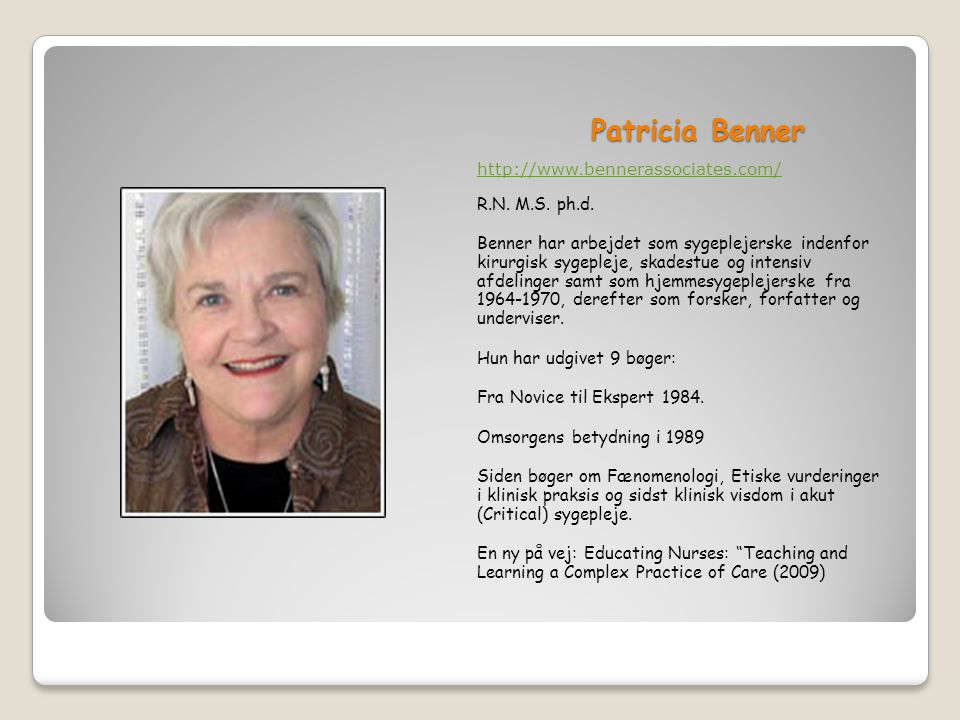 Patricia Benner Novice to Expert Nursing Theory Explained