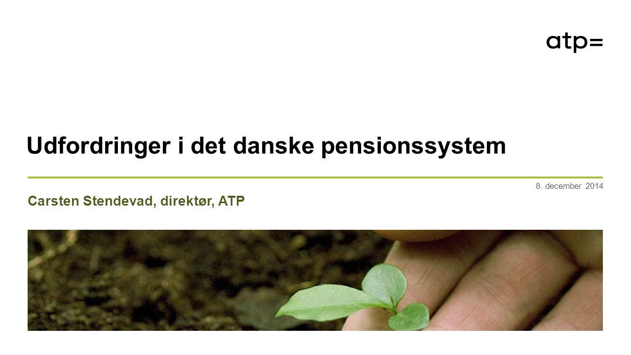Et af verdens bedste pensionssystemer