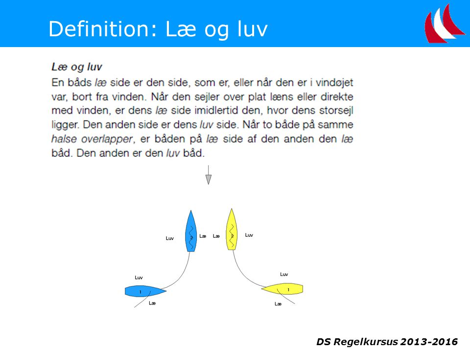 Definition: Læ og luv DS Regelkursus 2013-2016