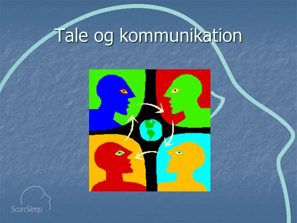 Tale og kommunikation