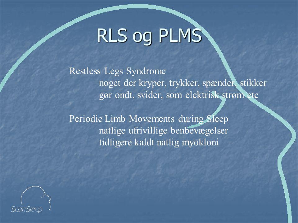RLS og PLMS Restless Legs Syndrome