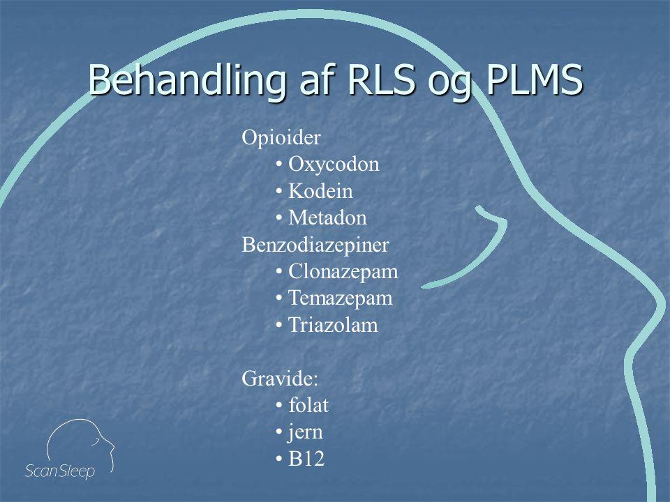 Behandling af RLS og PLMS