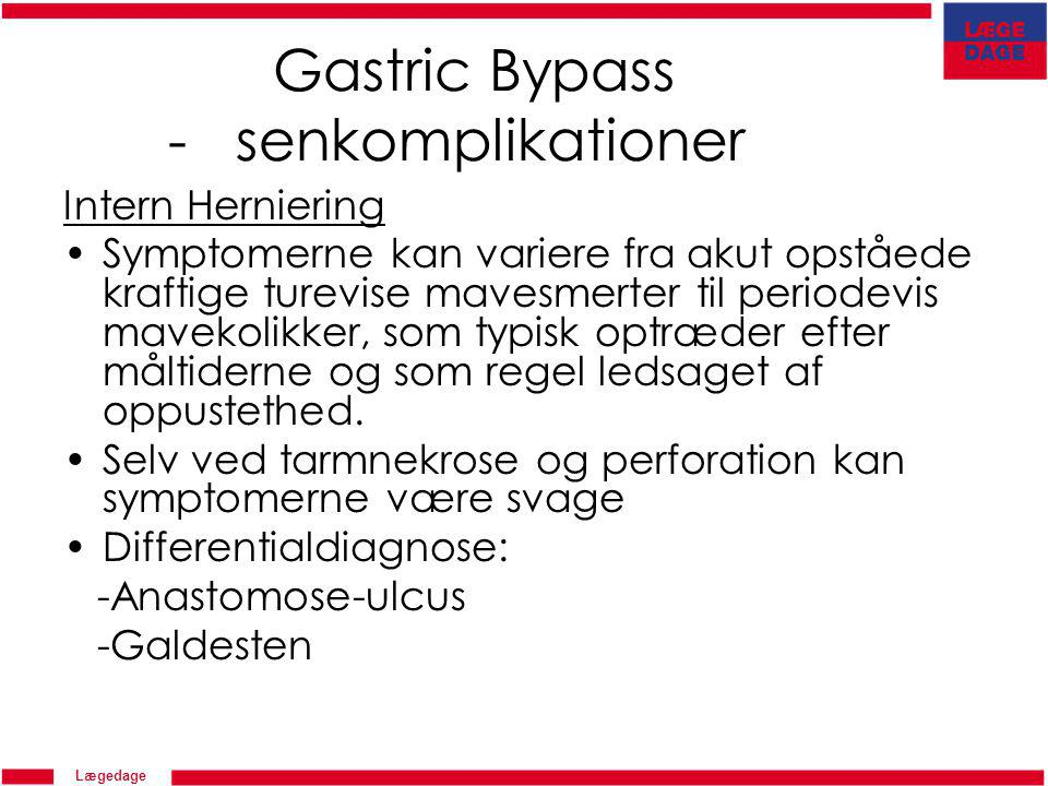 Gastric Bypass - senkomplikationer