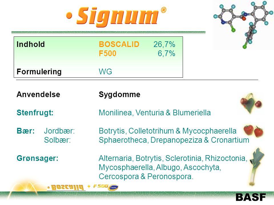 Stenfrugt: Monilinea, Venturia & Blumeriella