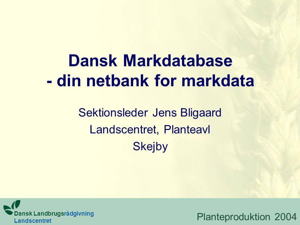 Dansk Markdatabase - din netbank for markdata
