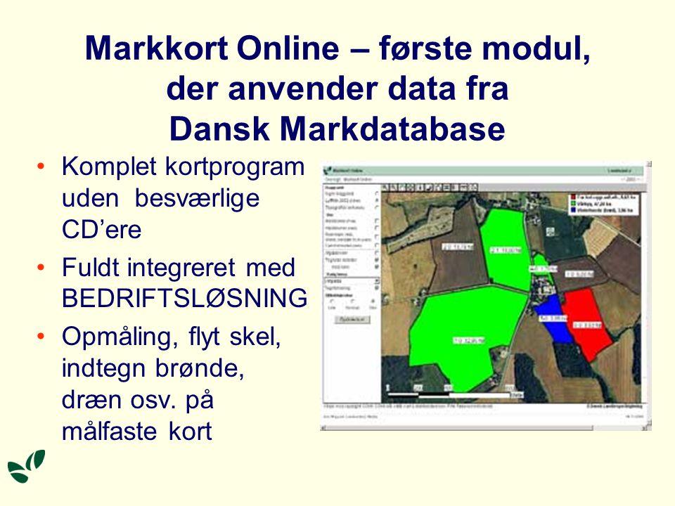 Markkort Online – første modul, der anvender data fra Dansk Markdatabase