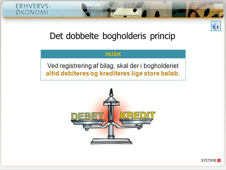 Det dobbelte bogholderis princip