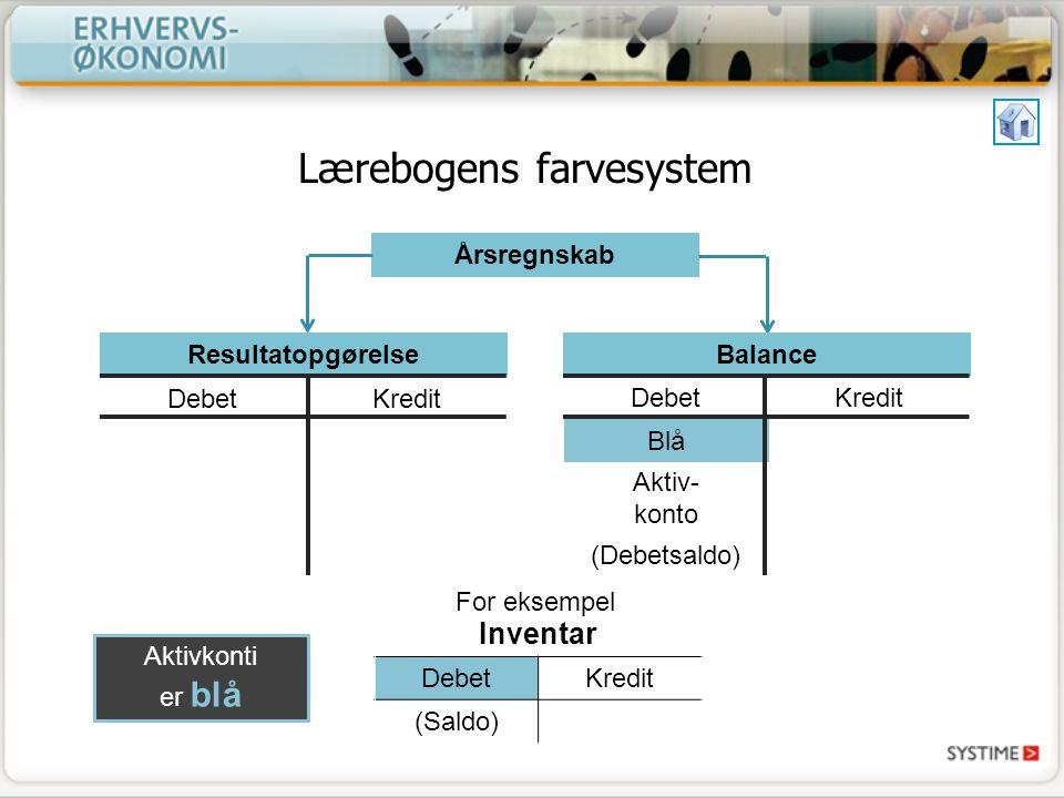 Lærebogens farvesystem