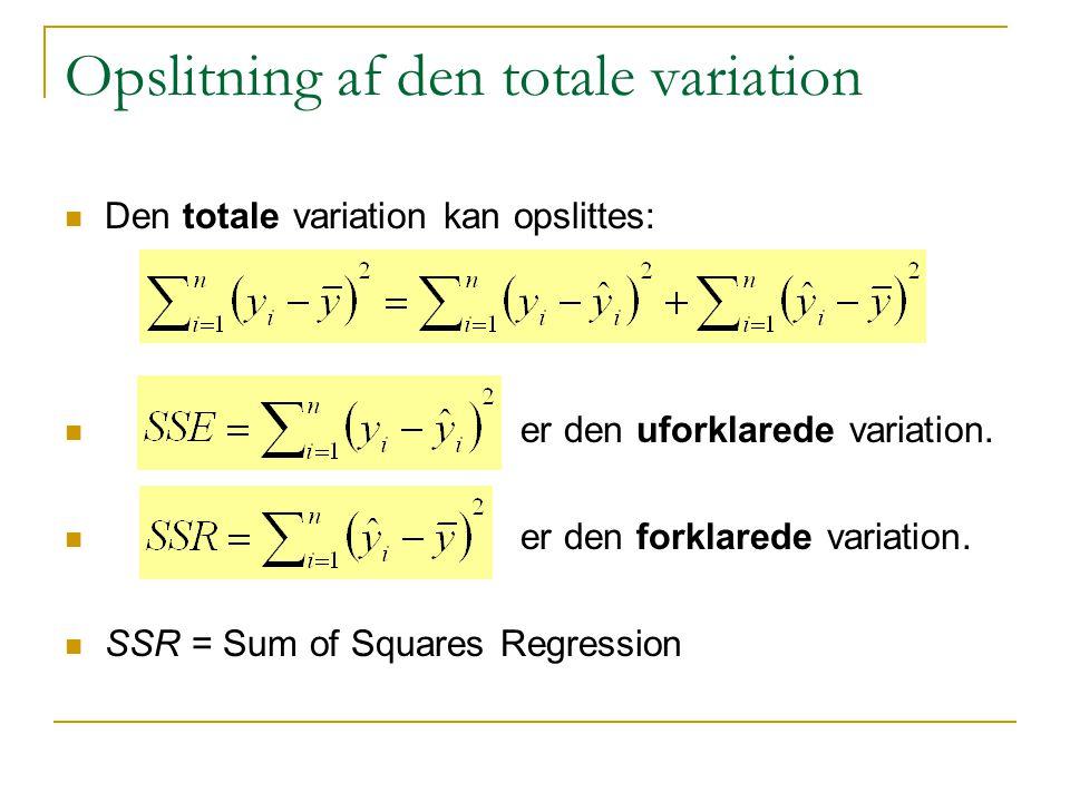 Opslitning af den totale variation