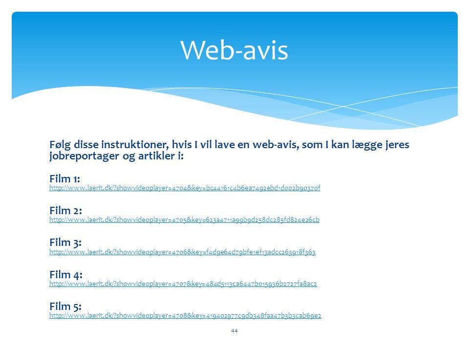 Web-avis